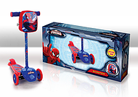 Самокат SD0114 Marvel Spider Man.залізо,3 колеса PVC,амортизатор