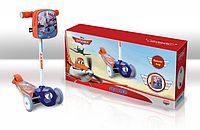 Самокат SD0111(от1шт) Disney Planes.залізо,3 колеса PVC,амортизатор