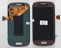 Дисплей + сенсор Samsung I8190 красный (Red)