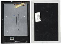 Дисплей для планшета Lenovo a10-70f , A10-70L Tab 2 + сенсорный экран белый