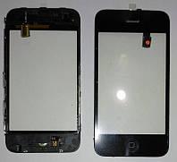 Сенсор iPhone 3G чёрный (Полнная сборка)