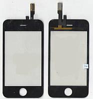 Сенсор iPhone 3G чёрный (качественная копия)