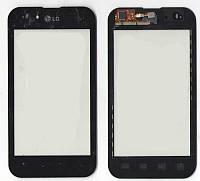 Сенсор LG P970 Optimus чёрный
