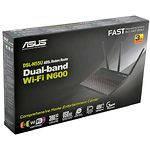 Asus DSL-N55U 300Mbps  ADSL2/2+ Router+splitter 4xLan 1xWan