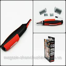 Триммер + Машинка для стрижки Micro Touch Switch Blade ( Микро Тач Свич Блейд) с насадками, фото 3