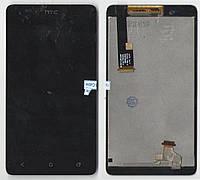 Дисплей + сенсор HTC Desire 400 Dual Sim T528w (HTC One SU) черный