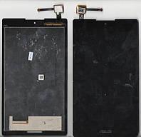 Дисплей для планшета Asus ZenPad Z170MG P001 C 7 3G с чёрным сенсором