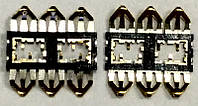 Разъем SIM карты Meizu (контакты под Nano-SIM)