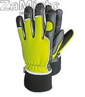 Перчатки зимние кожаные REIS RMC-Winmicrom