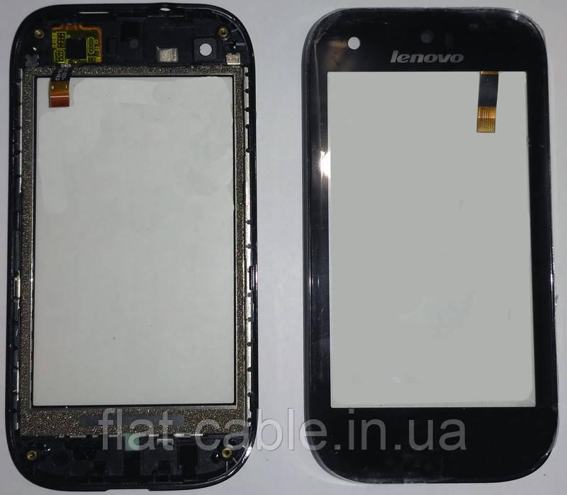 Сенсор Lenovo S760 black