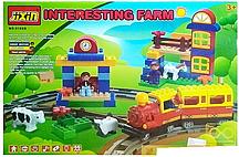 Железная дорога конструктор Jixin 6188B