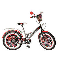 """Велосипед детский PROFI 20"""" (PF2036) GREY"""