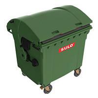 Мусорный контейнер SULO (1100 л) цветовой ассортимент