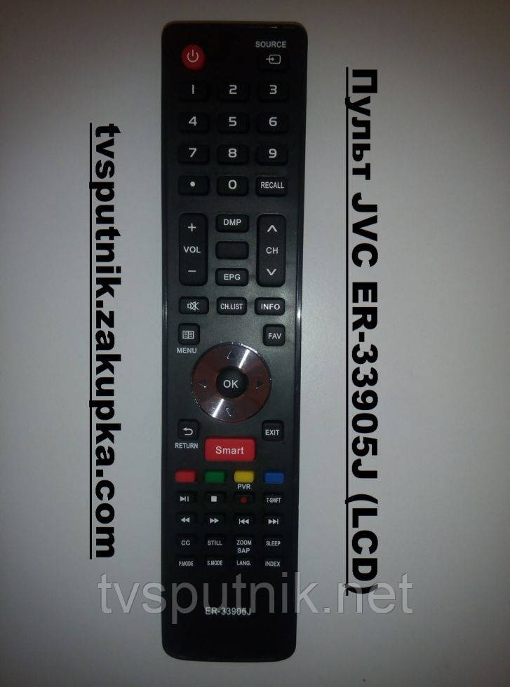 Пульт JVC ER-33905J (LCD) Smart