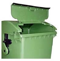 Мусорный контейнер SULO (1100 л) крышка зеленый