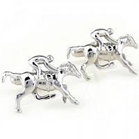 Запонки Bow Tie House конный спорт 05226