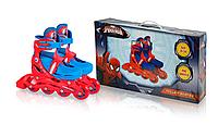 Роликовые коньки Disney Spider Man S (31-34) c металлической рамой (RS0117)