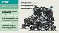 Роликовые коньки Extreme Motion Professional M (35-38) с металлической рамой (RY0101)