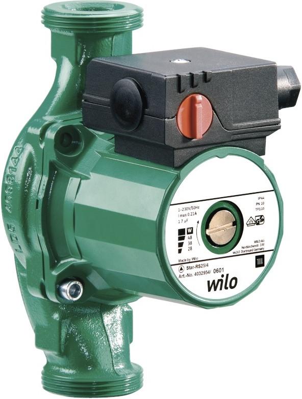 Wilo Star-RS 30/4 циркуляційний безсальниковий насос