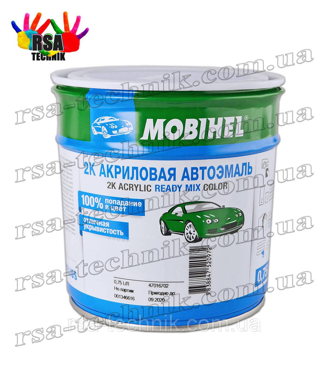 Акриловая эмаль mobihel 0,75л Сливочно-белая