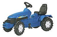 Трактор педальный New Holland TM175 Rolly Toys синий