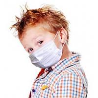 Маска защитная детская AMPri Eco Plus Kids 50шт., фото 1