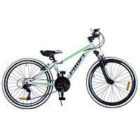 """Спортивный двухколесный велосипед PROFI 24"""" (G24A315-L-3W) с алюминиевыми тормозами"""