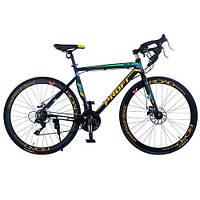 """Спортивный велосипед PROFI 28"""" (E51ROAD 700C-2) с трековыми колесами"""