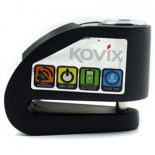Замок на тормозной диск Kovix KD6 Black
