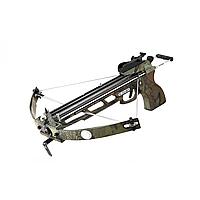 Арбалет блочный, пистолетного типа Кайман, для отца и сына