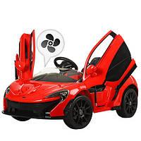 Детский Электромобиль McLaren 672 BR красный, кондиционер, амортизатор, плавный старт, пульт