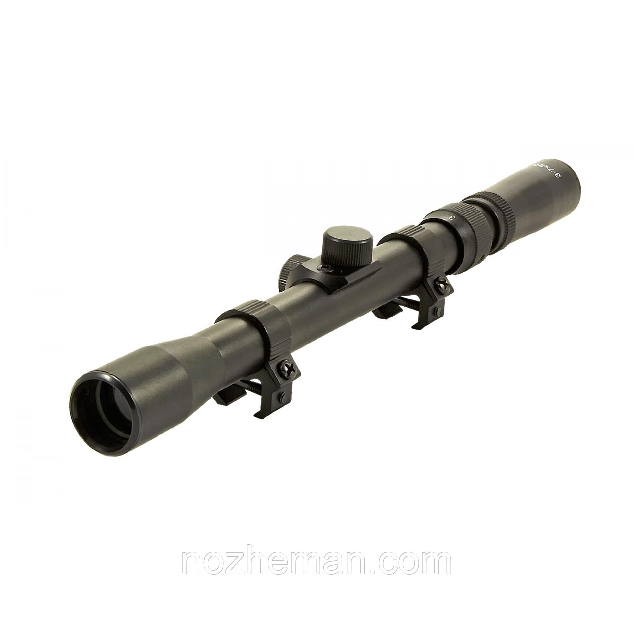 Прицел оптический переменной кратности 3-7x20-Tasco, для установки на пневматическое оружие, а также арбалет