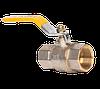 """Кран шаровый для газа 1/2"""" ВВ желтая ручка RS-K (Италия)"""