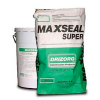 Maxseal Super - проникающая гидроизоляция обмазочная полимерцементная. Макссил Супер