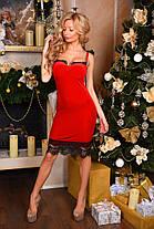 Х9001 Коктейльное платье из бархата в расцветках, фото 2