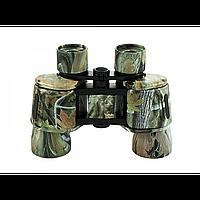 Бинокль 10x40 - Bushnell, в расцветке охотничьего камуфляжа отлично подойдет для охоты и туризма