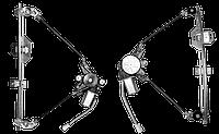 Стеклоподъемник 2110-12, 2170 электр. перед. лев. в сборе с моторедуктором