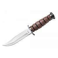Нож нескладной Коммандос-2, для туризма с тканевым чехлом в комплекте