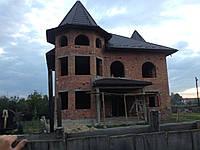 Крыши. Деревянные конструкции под металлочерепицу.