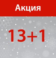 "Акция ""13+1"""