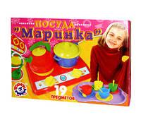 """Набор посуды """"Маринка"""" в коробке"""