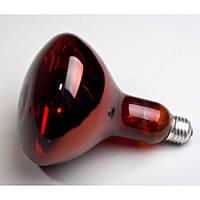 Инфракрасная лампа Helios 175W E27 230V (Польша) для обогрева животных, птиц