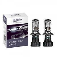 Ксеноновая лампа H4 Bi-Xenon 4300K BREVIA (2шт.) (Корея)