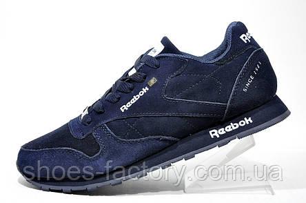 Кроссовки мужские в стиле Reebok Classic, Dark Blue, фото 2