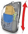 Вместительный рюкзак 30л. Granite Gear Marais 30 Black 923139, фото 3