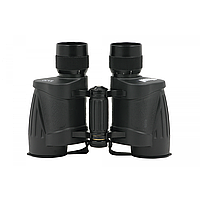 Бинокль 8x30 - Bassell, классическая модель с дальномерной сеткой и кожаным чехлом в комплекте
