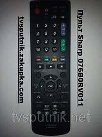 Пульт Sharp 076B0RV011 (LCD TV+DVD)