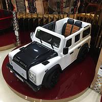 Детский джип Bambi Land Rover БЕЛЫЙ (M 3190EBLR-1)