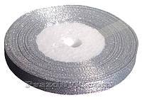 Лента серебро 1 см