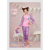Домашняя одежда для девочек_Пижамы и ночнушки для девочекПижама для девочки 006_004/98/ в наличии 98 р., также есть: 122,128,92,98, Ellen_Дітекс